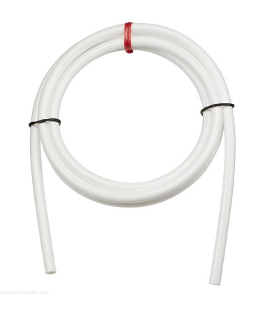 "1/4"" white tubing - by the meter"
