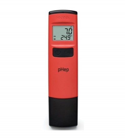 HANNA - pHep® pHmetro tascabile a tenuta stagna con risoluzione 0.1 pH