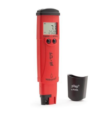 HANNA - pHep®4 Tester pH/Temperatura con risoluzione 0.1 pH