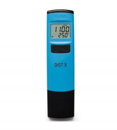 HANNA - DiST 3 Conduttivimetro tascabile a tenuta stagna (0-2000 µS/cm)