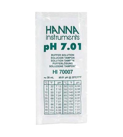 HANNA - Soluzioni di calibrazione pH 7.01 (monodose da 20 ml)